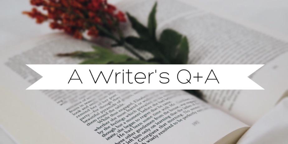 A Writer's Q+A